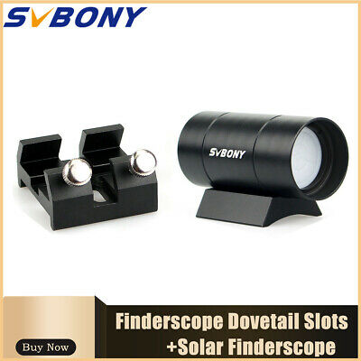 SVBONY Solar Finder Scope Fully Metal+Mount Dovetail Slots Dovetail Slots hotest
