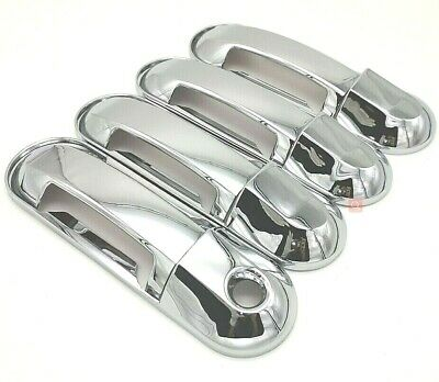 For Chevy Aveo Lt Hatchback 02-08 09 10 11 Chrome 4 Door Handle Cover W// Psg Kh