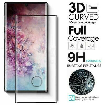 6D FULL COVER Tempered Glass Screen Protector For Samsung Galaxy Note 10 Plus 5G