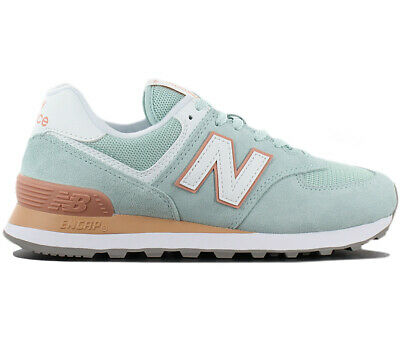 separation shoes 23f74 449b5 NEW BALANCE 574 Essentials Women's New White Agave Lifestyle ...