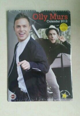 2012  Olly Murs Unofficial Tribute Wall Calendar  30 X 42Cm  New And Sealed.