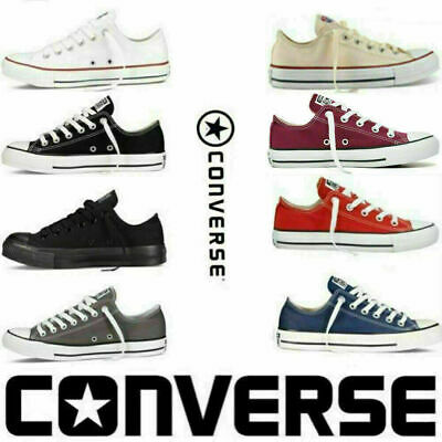 Fashion Converse All Star Unisex Chuck Taylor Mens Womens Low Top Trainers Shoes