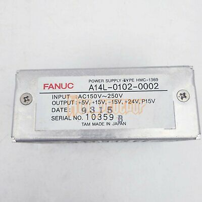 USED 1PC Fanuc A14L-0102-0002 Power Supply TESTED GOOD Condition