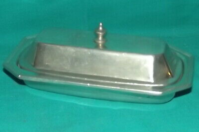 Vintage Wilton Columbia RWP Pewter Armetale Butter Dish