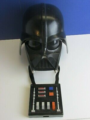 star wars DARTH VADER VOICE CHANGER HELMET electronic HASBRO TOY cosplay 86U