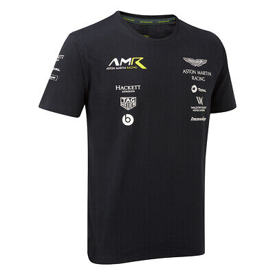Aston Martin Racing Men's Team T-Shirt - Le Mans Sportscar - All Sizes