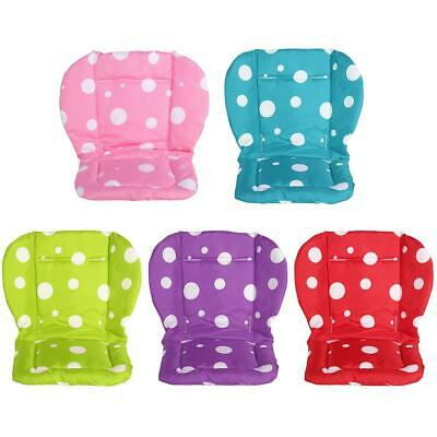 Baby Seat Liner Thickened Dots Print Seat Cushion Stroller Accessories WT7n
