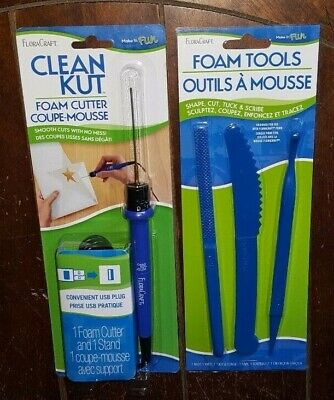FloraCraft Clean Kut: Foam Cutter & Stand - #RS602 + 3pk  Foam Tools - #RS9974