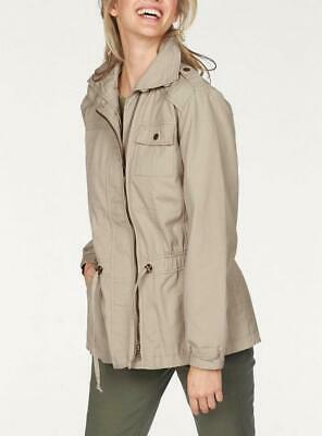 CHEER Damen WINTERJACKE PARKA Gr.44 BRAUN