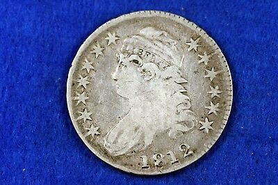 ESTATE FIND 1812 - Capped Bust Half Dollar!!  #H12090