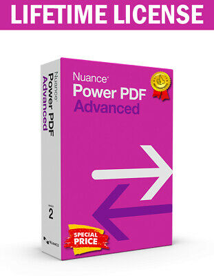Nuance Power PDF Advanced v2.1 ✔️ LifeTime Activation Key ✔️ FAST DELIVERY 🔥