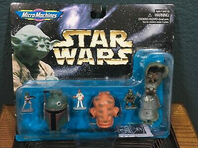 Galoob Micro Machines 68020 Star Wars Collection I NEW SEALED BOBA FETT 1556