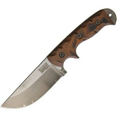 """Schrade SCHP1085938 Old Timer 15.5"""" Overall Bowie Knife w/Nickel Silver Guard"""
