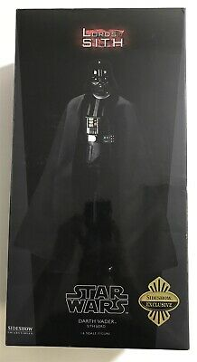 "Sideshow Collectibles Star Wars 12"" 1:6 Scale Figure Darth Vader Sith Lord CIB"