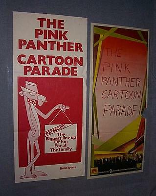 2 - PINK PANTHER CARTOON PARADE New Zealand movie posters