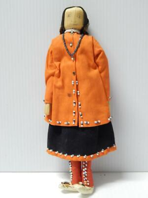 VINTAGE CORN HUSK Iroquois Native American Indian doll