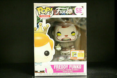 Funko Pop Vinyl Figure Freddy Funko Pennywise SDCC 2018 LE4000