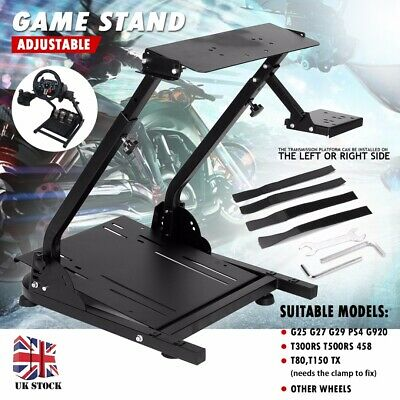 Adjustable Steering Wheel Game Stand For Logitech G29 Racing Wheel Shifter UK