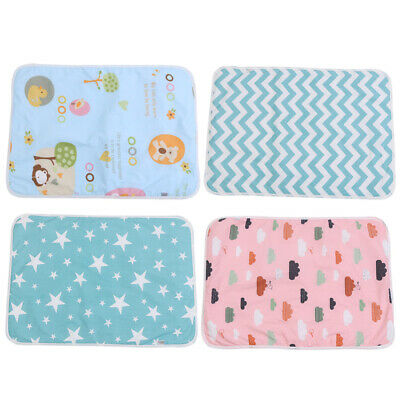 Infant Baby Comfort Urine Mat Waterproof Diaper Changing Pad Nappy Cover Bedding