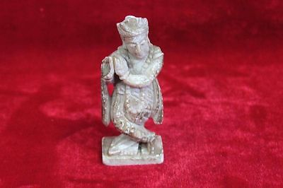 Marble Krishna Toy Figure Old Vintage Antique Collectible PN-95