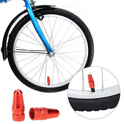 2Pcs Durable Bicycle   Presta Wheel Rim Tyre Stem Air Valve Caps Dust Cover zhSJ