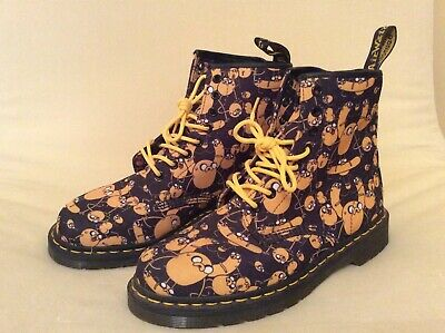 Dr. Martens 1460 Adventure Time Jake Print Canvas Boots