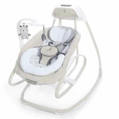 Ingenuity Smartsize Gliding Swing & Rocker Holden Baby Infant Soothing Chair