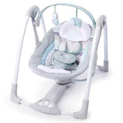 Ingenuity Power Adapt Portable Swing Abernathy Portable Infant Soothing Chair