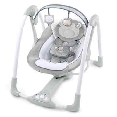 Ingenuity Power Adapt Portable Swing Braden Portable Infant Soothing Chair