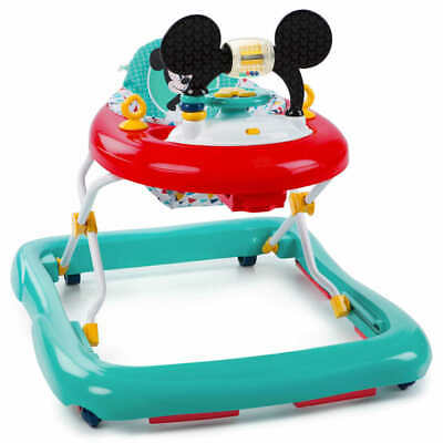 Disney Baby Walker Mickey Mouse Happy Triangles First Steps Bouncer Rocker