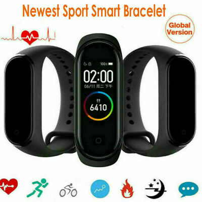 Mi Band 4 Smart Wristband Bracelet Watch Touch Screen Waterproof Sport 2019 Hot