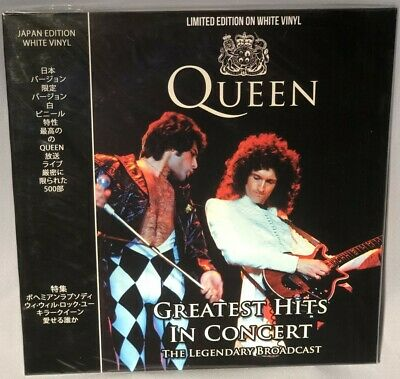 LP QUEEN Greatest Hits In Concert (Ltd White Vinyl, Coda, 2018) NEW MINT SEALED
