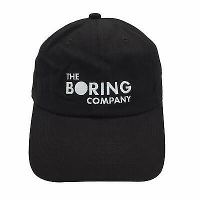 The Boring Company Authentic Hat Brand New Elon Musk Tesla Cap Rare & SOLDOUT