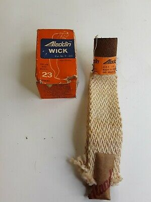 Vintage ALADDIN OIL LAMP WICK for Model 23 Burners Part No. R-230 NOS in BOX