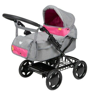 Girls Joie Dolls Junior Pram Stroller Buggy Pushchair Toy Kids DOLL SHOULDER BAG