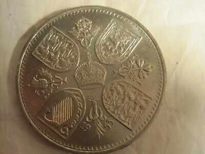 A British Crown Coin To Commemorate The Coronation Of Queen Elizabeth Ii.1953