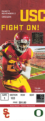 2019 USC Trojans Southern Cal Collectible Football Ticket Stub (Choose Any Game)