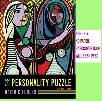 The Personality Puzzle 7th Edition by David C. Funder   (eB00k/PDF)