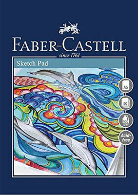 #791310 Faber Castell A4 Sketch Pad Creative Studio 100gsm 50 Sheets Art Draw