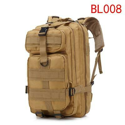 30L Sport Outdoor Military Rucksacks Tactical Backpack Camping Hiking Camouflage