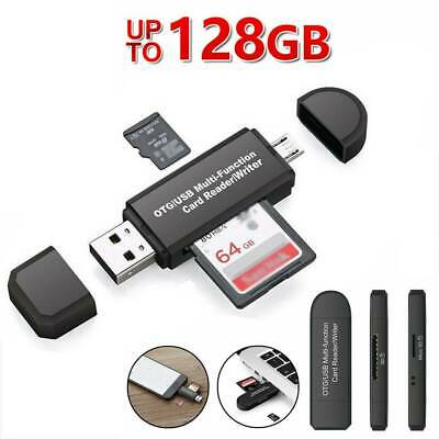Micro USB OTG To USB 2.0 Micro SD/Adapter SD Card Reader With Standard USB Male