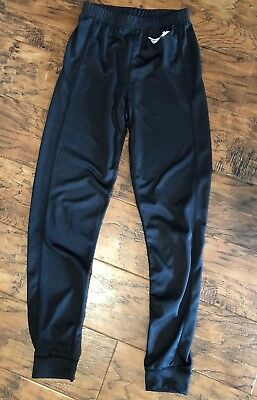 Men's S Small Fly Racing Base Layer Lightweight Pants Black