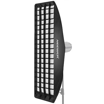 Neewer 8.7 x 36 inches Honeycomb Grid Softbox with Bowens Mount Speedring