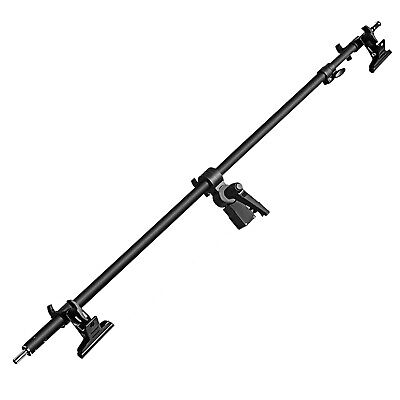 Neewer Studio Video Reflector Holder Arm with 2 Pieces Clamps for Light Stand