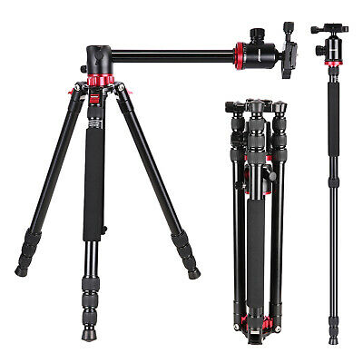 "Neewer 75"" 360 Degree Ball Head Camera Tripod Monopod for Panoramic Shooting"