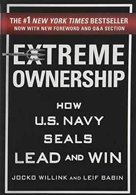 Extreme Ownership by Willink  New 9781250183866 Fast Free Shipping..