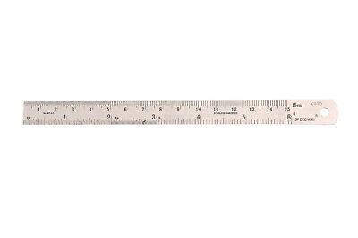 Speedway Flexible Stainless Steel Rule , FDA Approved 167 mm