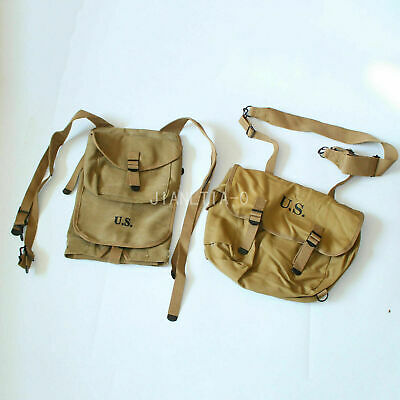 WWII WW2 U.S ARMY MILITARY M-1928 HAVERSACK KNAPSACK BACKPACK BAG POUCH