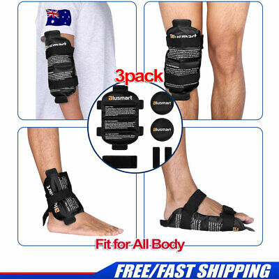 Hot& Cold Therapy Gel Ice Wrap Reusable For Shoulder Back Knee Leg Pain RelieIf