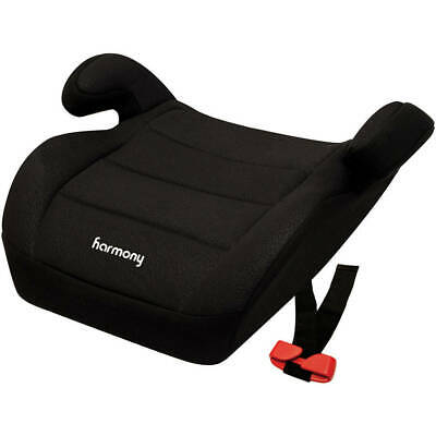 Harmony Juvenile Youth Backless Booster Car Seat, Black